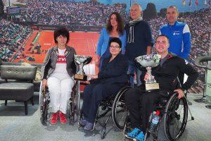 """Įvyko neįgaliųjų teniso turnyro finalas """"Baltijos Taurė 2016"""""""
